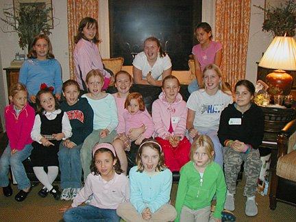 Charleston SC Camp Girls