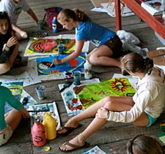 Summer Camp Painting Class
