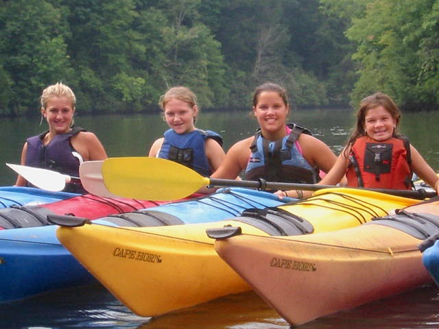 Kids Camp Sea Kayaking NC