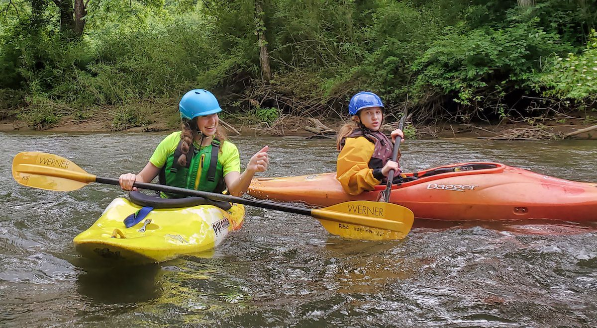 Teen Kayaker Girls