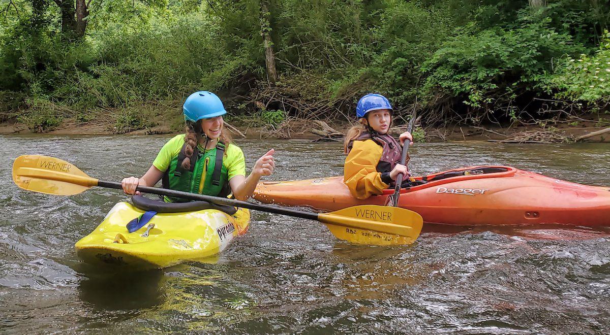 Teen Kayaker Girls