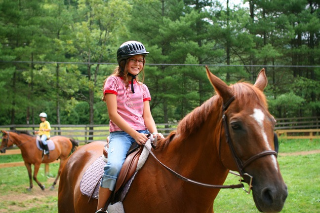 Horse Camp for Girls Only