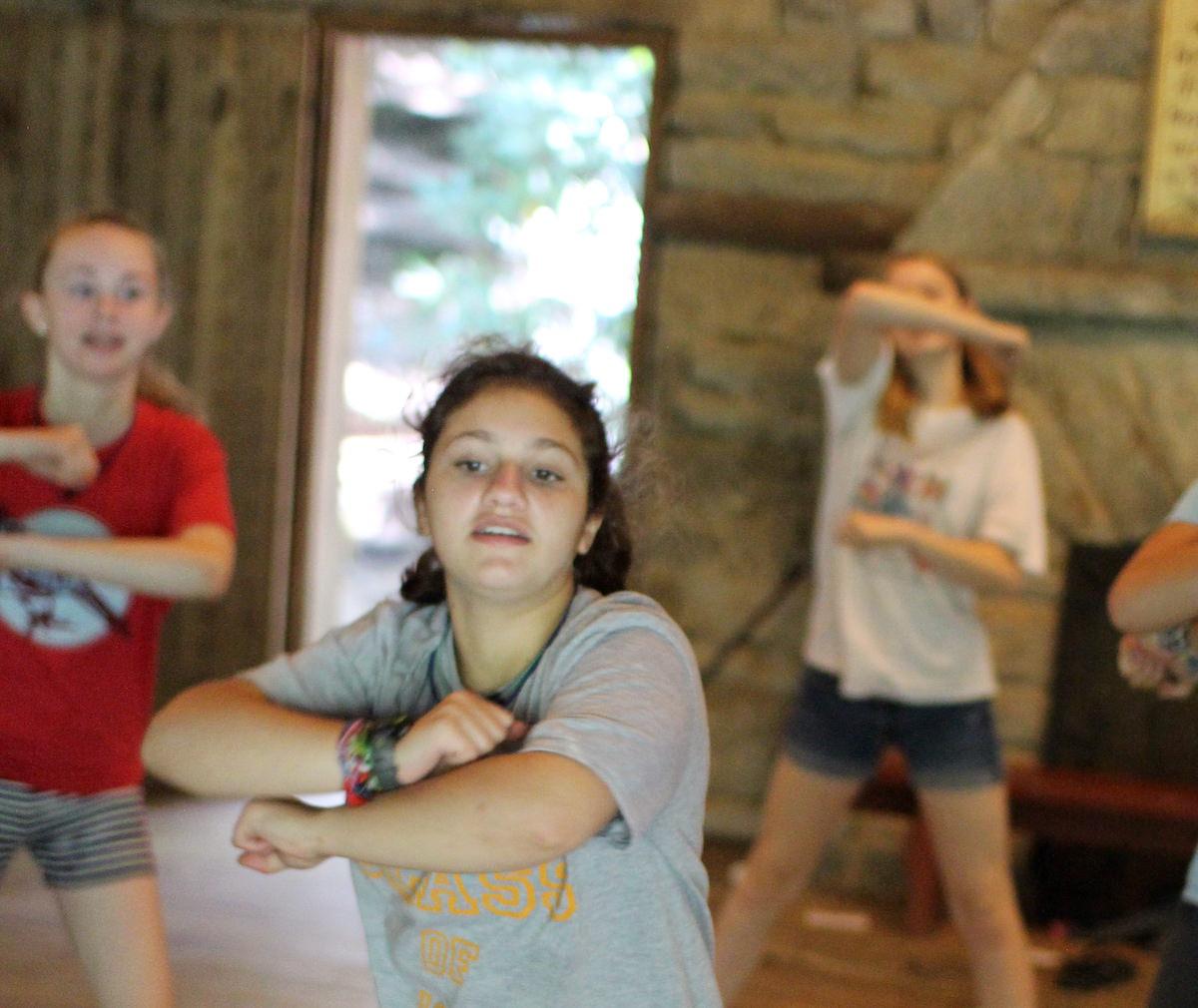 Girls Dance Camp Teens Dancing