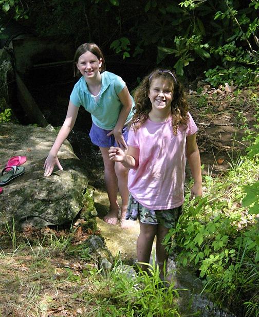 Outdoor Girls at Summer Camp