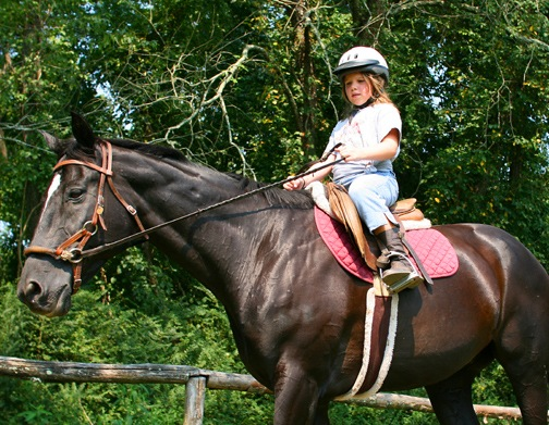 Beginning Horseback Rider Girl
