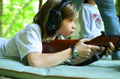 Kids Camp Riflery Program