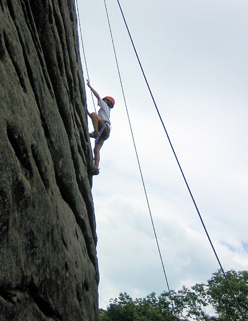 Girls Rock Climbing Summer Camp