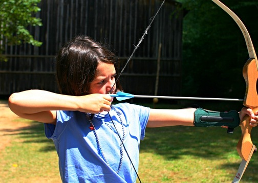 Archery Girl Summer Camp