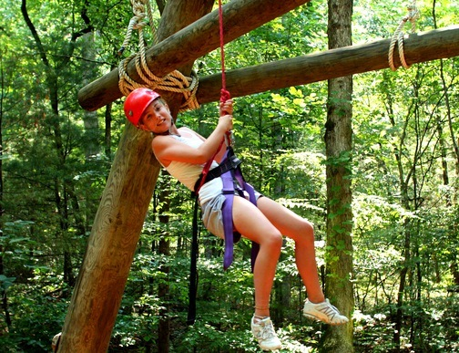 Ropes Course Adventure Camp for Teens
