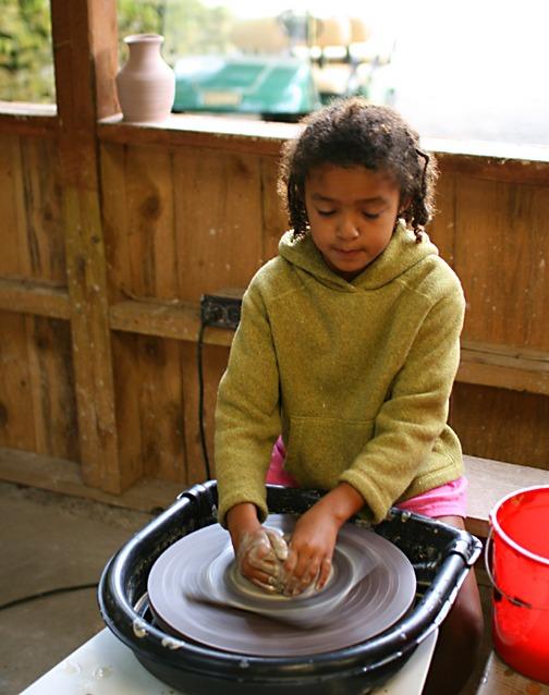 Girls Crafts and Ceramics Camp