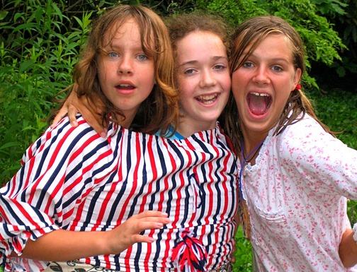Summer Camp Dressing Up Fun