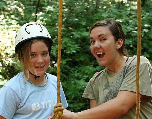 Outdoor Summer Job Girls Camp