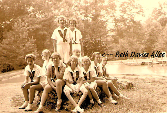 Summer Camp Girls at Rockbrook