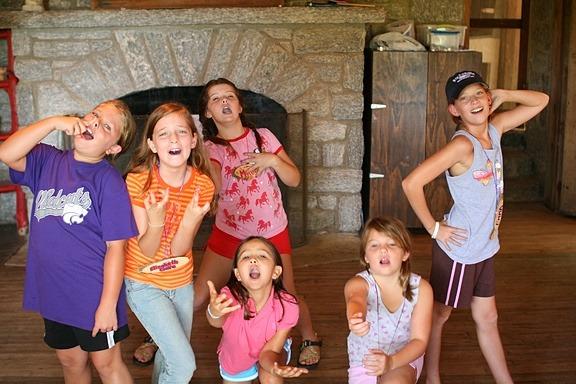 Drama Girls at Summer Camp