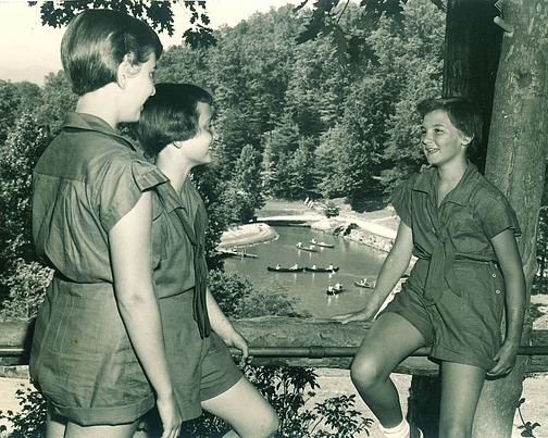 Rockbrook outdoor kids at summer camp