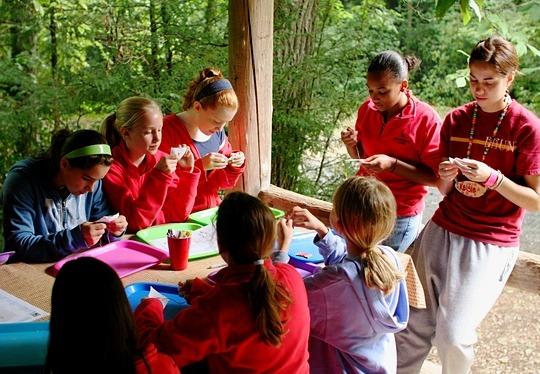 Summer Camp Teens Arts Activity