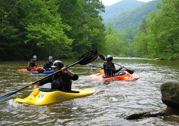 adventure kayaking camps