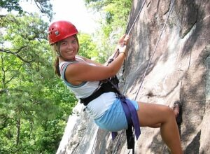 Rock Climbing Adventure Girl