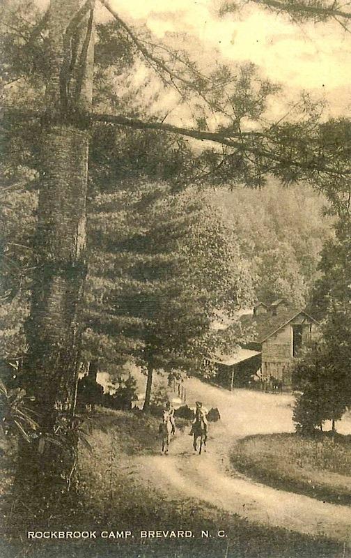 Summer Camp Horse Barn 1930s