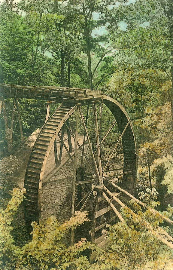 Rockbrook Camp Historic Waterwheel