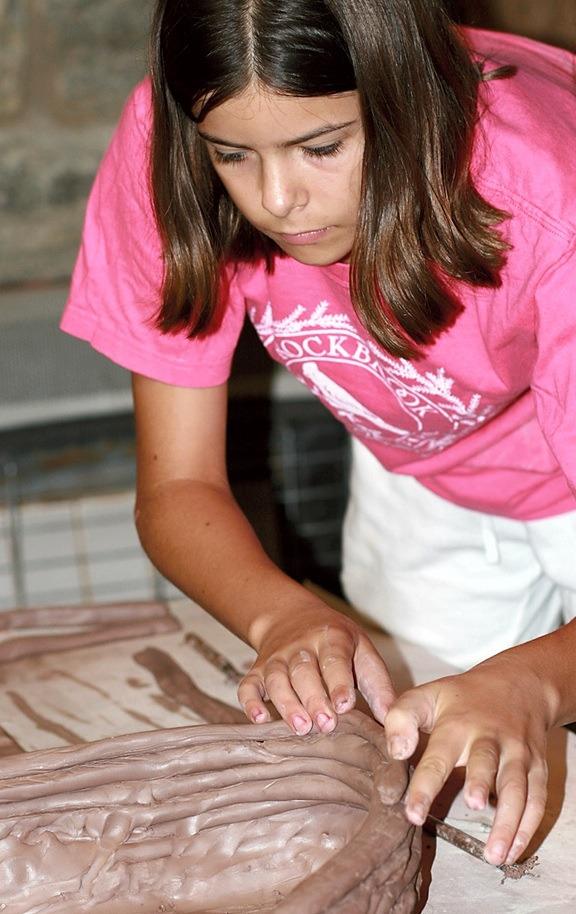 Summer Pottery Arts Program