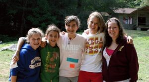 Teens Girl Camp Friends