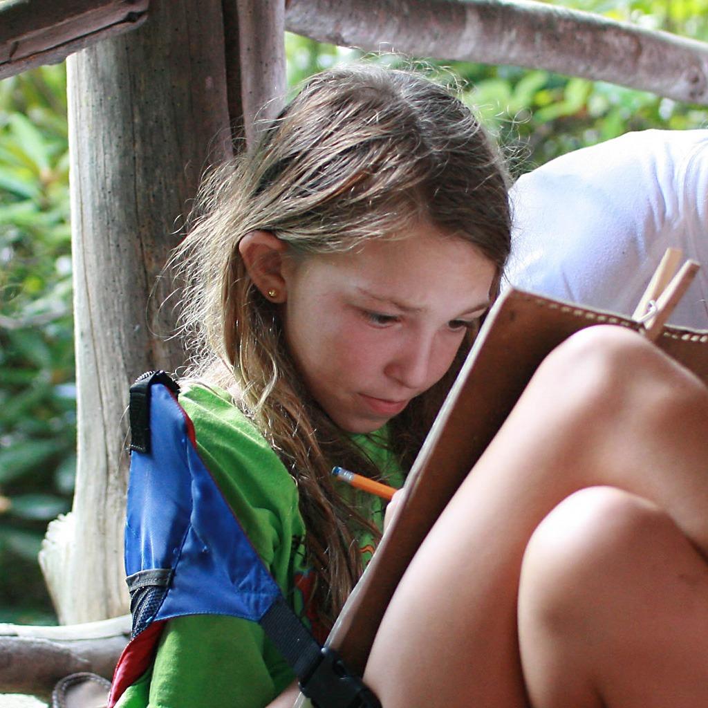 Camp Kid Reading