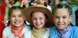 Cute Little Camp Girls