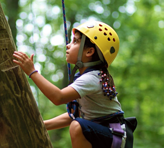 Girls Climbing Camp Adventure