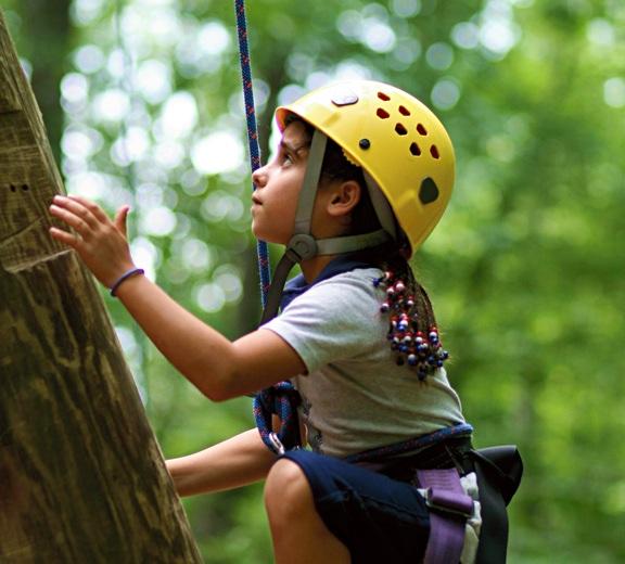 Girls Climbing Camp Adventure