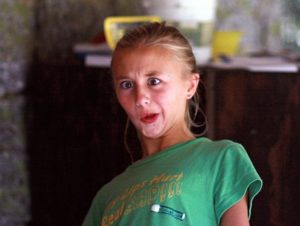 Silly Camp Girl Face