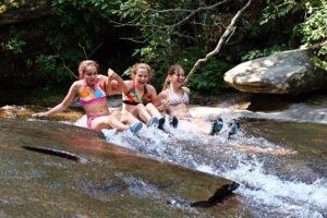 Swimming Adventure Water Slide