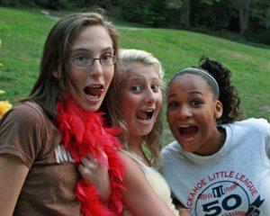 Huge Smile Camp Girls