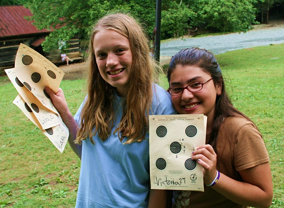 Camp Girls Rifle Targets