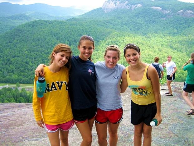 9th Grader CA campers