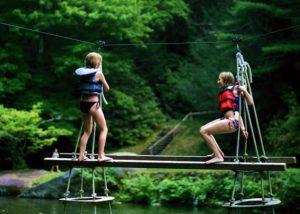 Climbing Lake Camp