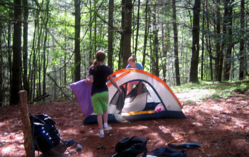 Backpacking Outdoor Camp Kids