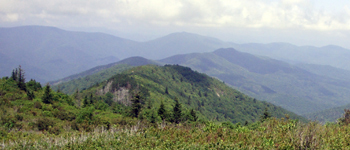 North Carolina Brevard Mountains