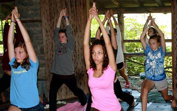 Summer Camp Yoga Games