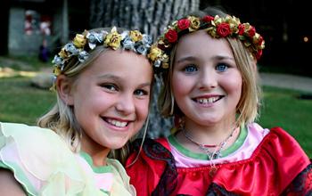 Costume Summer Camp Girls