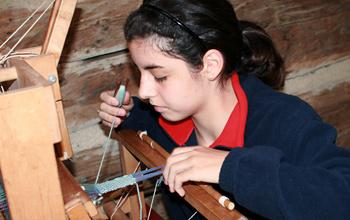 Fiber Arts Weaving Activity