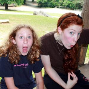 Funny Camp Girls