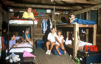 Girl Camp Cabin Inside