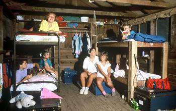 Girl Camp Cabin Inside