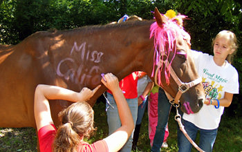 Girls Horse Camp