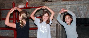 Camp Skit Playing Girls