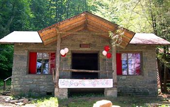 Girls Summer Camp Lodge