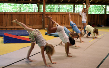 Girls Gymnastics Camp