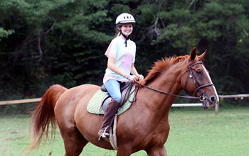 Summer Camp Horseback Riding