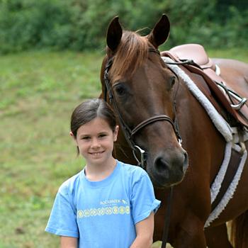kids camps horseback rider